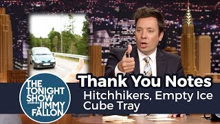 Download Thank You Notes: Hitchhikers, Empty Ice Cube Tray Video
