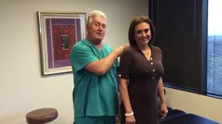 Download Houston Chiropractor Dr Gregory Johnson ″Ring Dinger″ Of The Day Helps Patient Grow Taller Video