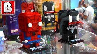 Download Exclusive LEGO Brickheadz at San Diego Comic Con 2017 + Life Size LEGO Luke Skywalker! Video