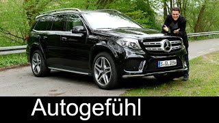 Download Mercedes GLS FULL REVIEW test driven GLS 400 450 - Autogefuehl Video