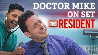 Download Doctor Mike On Set of The Resident! | Audition FAIL + Cast Interview Video