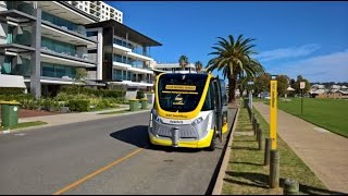 Download Test driving the Worlds first Self driving Bus in Australia Video