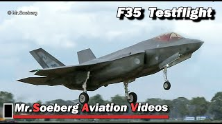 Download LANDING AFTER TESTFLIGHT F-35, F-001, with F16's at Volkel Video