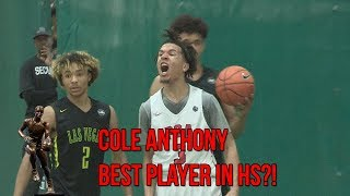 Download Is Cole Anthony The BEST Player In High School?! NIKE EYBL MVP Full Highlights Video