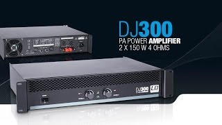 Download LD Systems DJ300 - PA Power Amplifier 2 x 150 W 4 Ohms Video