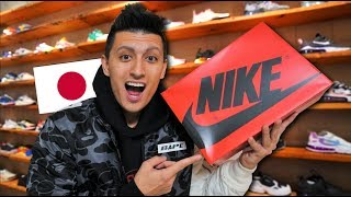 Download I CAN'T BELIEVE I FOUND THESE SNEAKERS SITTING IN JAPAN! Video