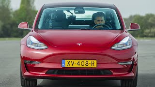 Download EXCLUSIVE: Tesla Model 3 vs Merc-AMG C63 S, BMW M3 & Alfa Giulia QV Drag Race | Top Gear: Series 27 Video