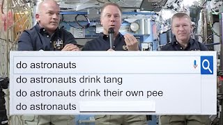 Download NASA Astronauts Answer The Web's Most Searched Questions | WIRED Video