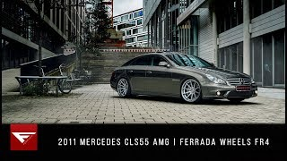 Download 2011 Mercedes CLS55 AMG | Ferrada Wheels FR4 Video