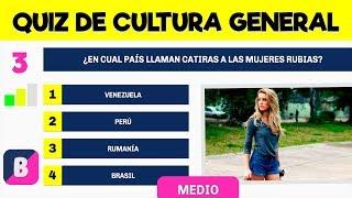 Download ¿Cuanto sabes de CULTURA GENERAL? Nivel MEDIO ►003 Video