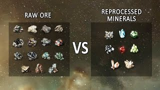 Download EVE Online: Selling Raw Ore vs Reprocessing Video