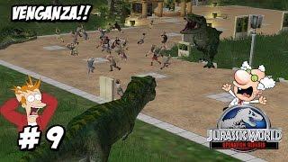 Download VENGANZA DE DINOSAURIOS! DINOSAURIOS ESCAPAN DEL PARQUE // Jurassic World 2 Operation Genesis #9 Video