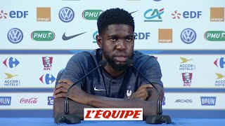Download Umtiti «Messi ne vit pas le football comme nous» - Foot - CM 2018 - Bleus Video