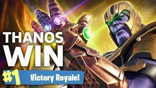 Download Fortnite Thanos Victory Royale - Infinity Gauntlet Gameplay Video
