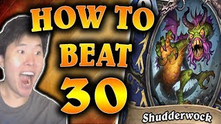 Download How to Beat 30 SHUDDERWOCKS | Quest Priest | THE WITCHWOOD | HEARTHSTONE | DISGUISED TOAST Video