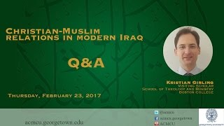 Download Q&A: ″Christian-Muslim relations in modern Iraq″ with Kristian Girling Video