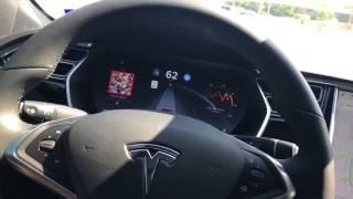 Download Tesla Silky Smooth Software Update V8.1 2017.28c528869 Video
