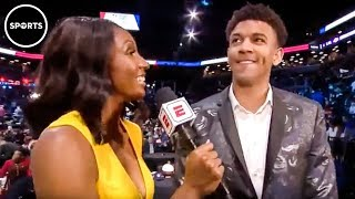 Download NBA Rookie STUNS Viewers When Asked About His Mom Video