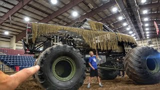 Download World's First Hand Controlled GIANT Monster Truck! Video