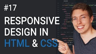 Download 17: How to Make a Website Responsive | Learn HTML and CSS | HTML Tutorial | Basics of CSS Video