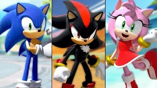 Download Team Sonic Racing - ALL Team Ultimates / Abilities / Moves (All Characters) Video