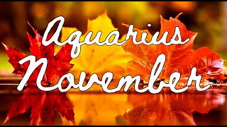 "Download AQUARIUS ""New love for you… when your ready"" November 2019 Tarot Reading Video"