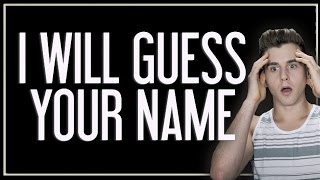 Download This Video Can Guess My Name? Video