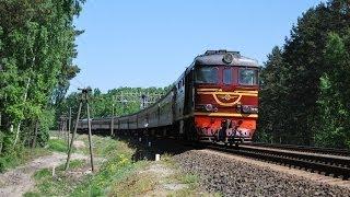 Download Железная дорога, тепловозы, видео поезда / Diesel locomotives, railway video compilation Video