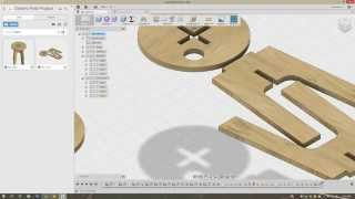 Download Fusion360 - Laying out flat sheet components to prepare for CAM Video