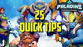 Download 25 Quick Tips to get Better at Paladins Video