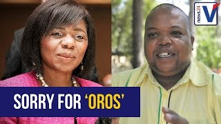 Download WATCH: Madonsela apologises for calling Collen Maine 'Oros' Video