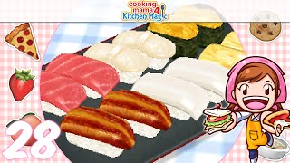 Download [Let's Play] Cooking Mama 4 Kitchen Magic - EP28: Sushi (/^▽^)/ Video