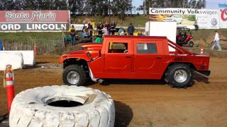 Download Santa Maria Speedway sand drags fast Hummer Video