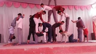 Download Yoga , piramid through aerobic dance Video