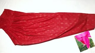 Download Narrow salwar stitching simple and easy method Video