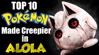 Download Top 10 Pokemon Made Creepier By Alolan Pokedex Entries Video