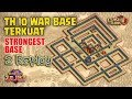 Download TH10 War Base Terkuat 2017 + Replay | Strongest and Populer Base | Clash of Clans Video