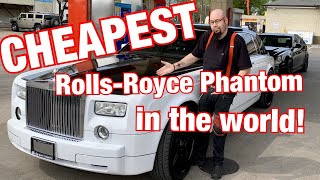 Download I bought the cheapest Rolls Royce Phantom in the world! The most in depth look at the car! Video