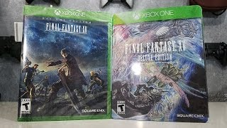 Download Final Fantasy 15 Deluxe Edition Unboxing - Day One Edition Giveaway Video