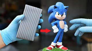 Download Turn Clay into Sonic the Hedgehog (movie version) Video