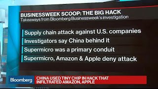 Download China Used Tiny Chip in Hack That Infiltrated Amazon, Apple Video