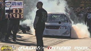 Download Fastguy Racing 1100hp K-Tuned Civic 8.33 @ 181 | WCF - Import vs Domestics 2016 Rewind | ERacer Video