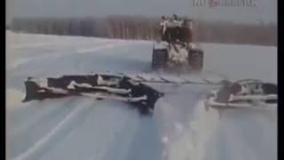 Download 1984 год. Работы по снегозадержанию на полях в Омской области Video
