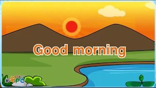 Download เพลงภาษาอังกฤษ good morning (เพลงสอนเรื่องคำทักทายภาษาอังกฤษ) Video