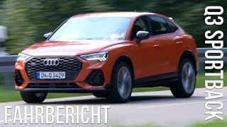 Download 2020 Audi Q3 Sportback 40 TDI quattro Fahrbericht Test Review Fahreindruck Probefahrt Kaufberatung Video