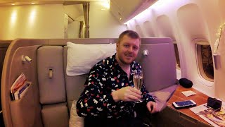 Download INCREDIBLE First Class on Cathay Pacific's 777-300ER Video