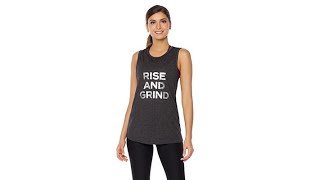 Download Warrior by Danica Patrick ″Rise and Grind″ TwistBack Tank Video