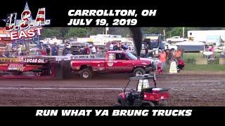 Download 7/19/19 USA-East Carrollton, OH Run What Ya Brung Trucks Video