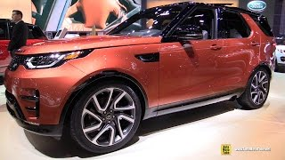Download 2017 Land Rover Discovery HSE Luxury - Exterior and Interior Walkaround - 2016 LA Auto Show Video