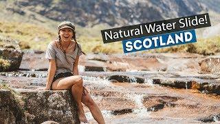 Download SECRET SCOTTISH WATER SLIDE!   Wild Camping in the SCOTTISH HIGHLANDS! Video